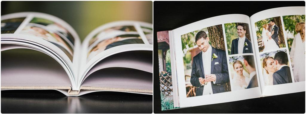 Detailaufnahme Bildbände für Hochzeitsfotografie