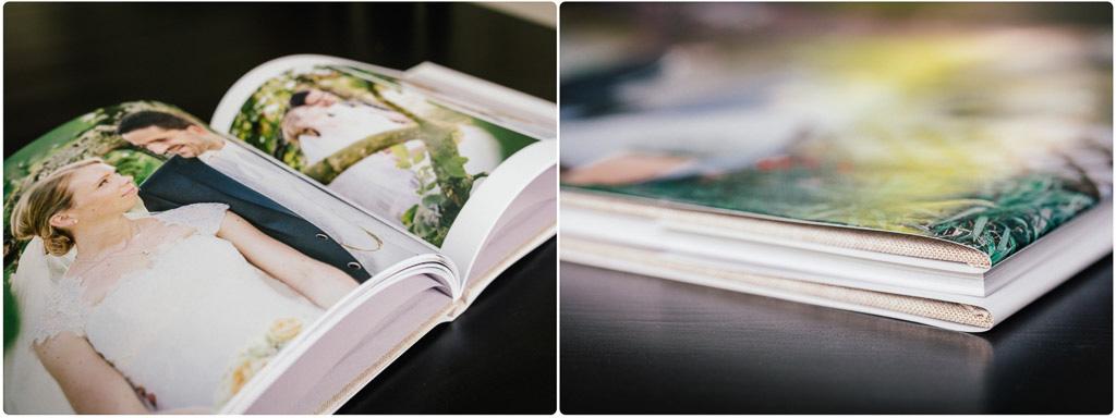 Hochwertige Bildbände für Hochzeitsfotografie